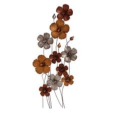 awesome metal wall decor flowers gallery home design ideas home decor standing flowers metal wall art