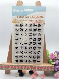 popular letter stamps for kids buy cheap letter stamps for kids