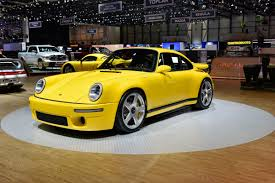 ruf porsche 911 ruf ctr yellow bird makes geneva return with 700bhp evo