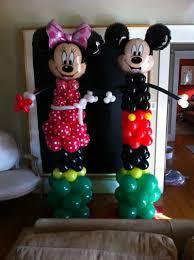 mickey mouse balloon arrangements balloon decor of central california themes