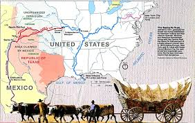 santa fe trail map western united states this will be great with