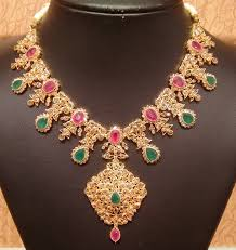 diamond sets design diamond necklace in light weight jewellery designs