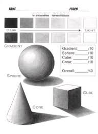 drawing and shading 3d shapes value and form how to draw
