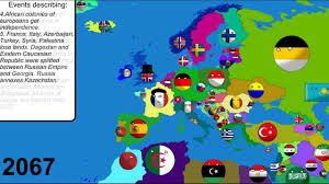 World War 1 Europe Map by Alternative Future Of Europe In Countryballs 4 Religion World
