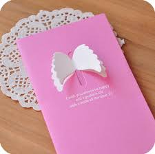 wholesale gift card korean pop up 3d greeting cards for s