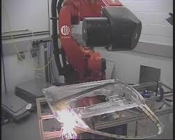 Como es la soldadura con rayo laser