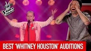 The Voice How Many Blind Auditions Best Whitney Houston Blind Auditions On The Voice Kids