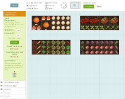 Garden Layout Template by 7 Free Garden Planners