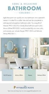 Warm Bathroom Paint Colors by Best 25 Blue Bathroom Paint Ideas On Pinterest Blue Bathrooms