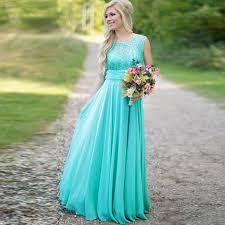 teal bridesmaid dresses aliexpress buy cheap lace chiffon teal bridesmaid