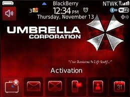 themes blackberry free download resident evil umbrella corporation for bb 8520 93xx themes free