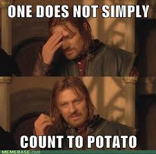 Count To Potato Meme - can you count to potato anandtech forums