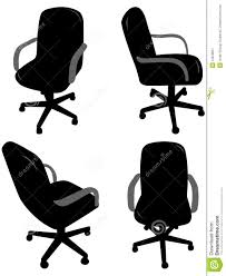 Office Chair Clipart Office Chair Silhouettes Stock Image Image 12818061