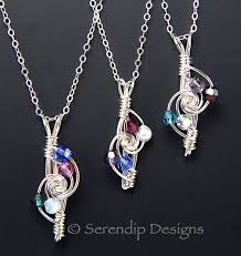 mothers birthstone jewelry 9 best birthstone jewelry by serendip designs images on