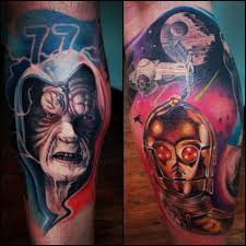 fabulous examples of star wars tattoos great tattoo ideas and tips
