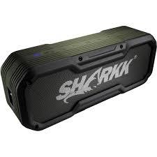 sharkk commando water resistant portable bluetooth sp skbt83 b u0026h