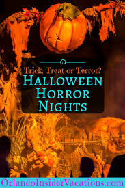 halloween horror nights 2017 trick treat or terror orlando