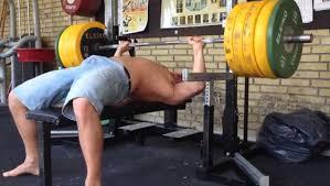 Bench Press World Record Man Attempts 725 Lbs Record Bench Press Fail Ebaum U0027s World