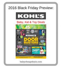 black friday 2016 best deals at kohls black friday 2016 baby cheapskate