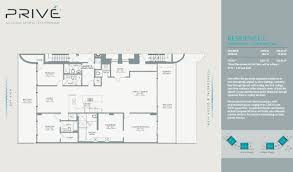 Parc Imperial Floor Plan by Prive 5 One Miami Homes