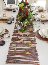 make your own table runner diy table runners that will add an interest to the table
