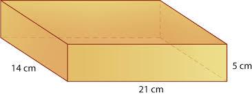surface area of rectangular prisms ck 12 foundation