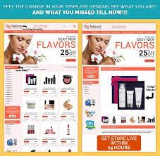 natural beauty theme ebay shop design uk at 29 99