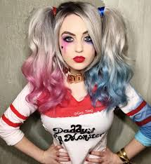 temporary hair color for halloween harley quinn squad by guy tang halloween fun pinterest
