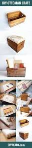 Wood Storage Ottoman by Upcycling Vintage Wooden Crate Diy Projects Craft Ideas U0026 How To U0027s