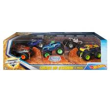 wheel monster jam trucks list wheels monster jam smash up stadium vehicle 5pk styles may