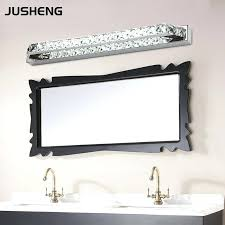 long bathroom light fixturesluxurious crystal bathroom wall light