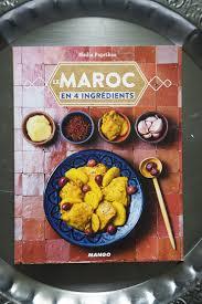 livre cuisine livre le maroc en 4 ingrédients et harcha coconut