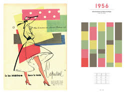 100 years color beautiful color combinations 20th century