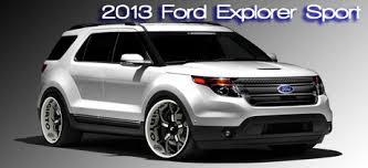 review ford explorer sport 2013 ford explorer sport car test drive written by bob