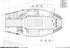 Floor Plan Line Of Credit London 2012 Aquatics Centre By Zaha Hadid Buildipedia