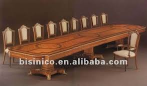 french style wooden marquetry conference furniture royal