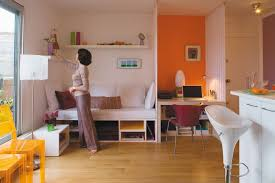 How To Decorate A Very Small Studio Apartment - Efficiency apartment designs
