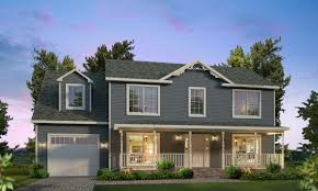 Two Story Farmhouse Two Story Homes Home Planning Ideas 2017