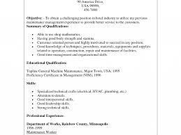 Building Maintenance Resume Samples 100 Industrial Maintenance Manager Resume Gis Resume