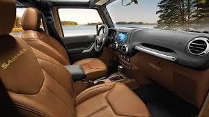 Saddle Interior Jeep Wrangler Unlimited Sahara Saddle Brown Interior Jeep