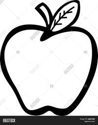 coloring page glamorous apple fruit drawing drawn 2 coloring