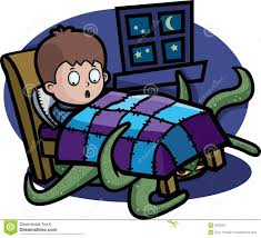 monster under the bed stock photos image 2032053