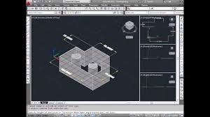 autocad tutorial how to convert 2d into 3d youtube