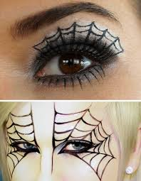 diy spiderweb makeup tutorials for diy spiderweb makeup you can