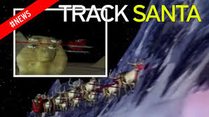 where is santa right now how to spot u0027santa u0027s sleigh u0027 over the uk