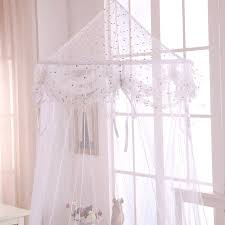 Sheer Bed Canopy Casablanca Buttons And Bows Collapsible Hoop Sheer Bed