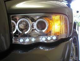02 dodge ram headlights halo led projector headlight dodge headlights