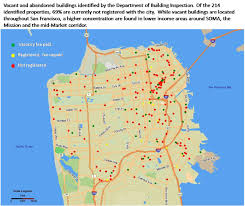 Crime Map San Francisco by In Crackdown Sf Abandoned Building Fee Hiked Ninefold San