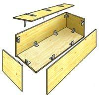 Build Wooden Toy Boxes by How To Build A Toy Box Step By Step