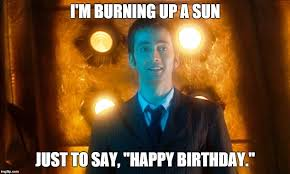 Doctor Who Birthday Meme - doctor who happy birthday imgflip